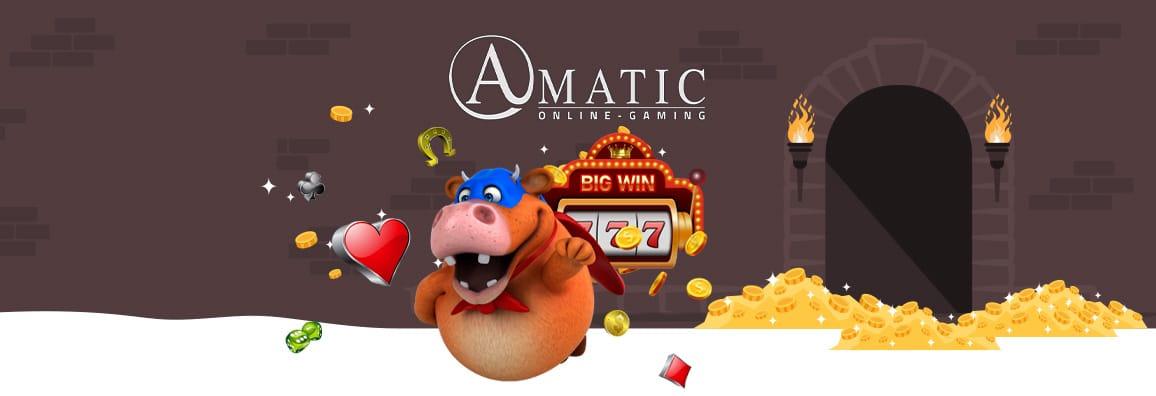 Amatic казино игри — Всичко за казино софтуера на Аматик