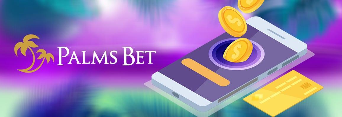 Палмс Бет депозит — Извършване на депозит в PalmsBet