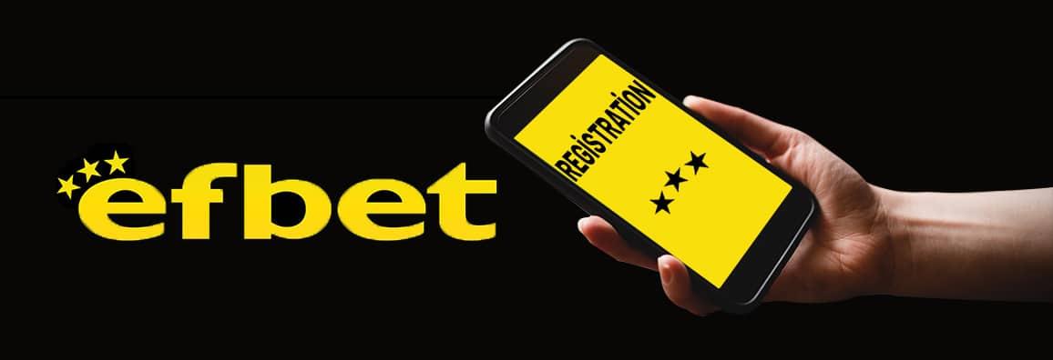 Ефбет регистрация — Създай своя профил в Efbet